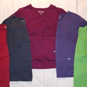 Grey's Anatomy Scrub Tops 2XL - 5 Colors Available